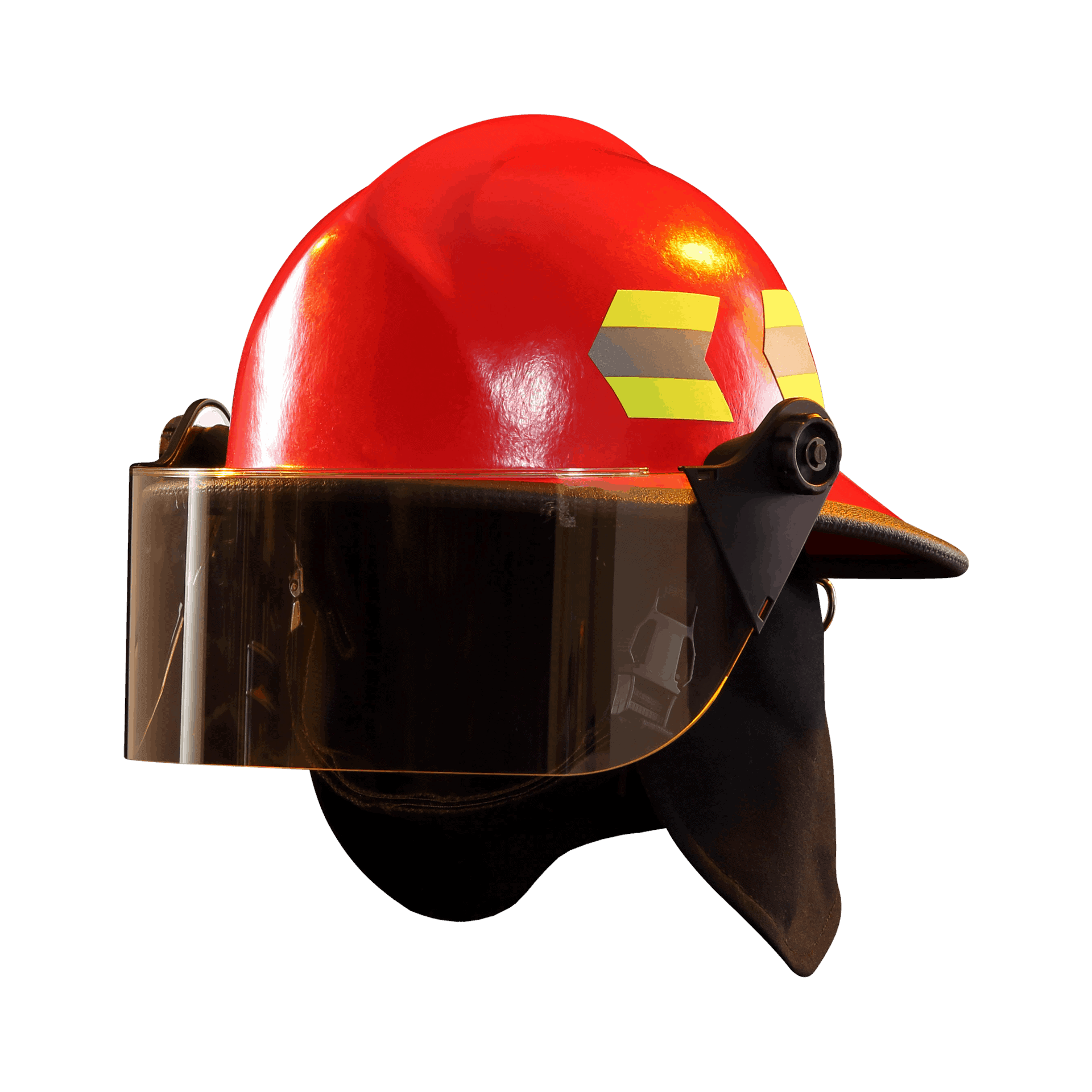 Fire-Dex Modern Helmet with visor