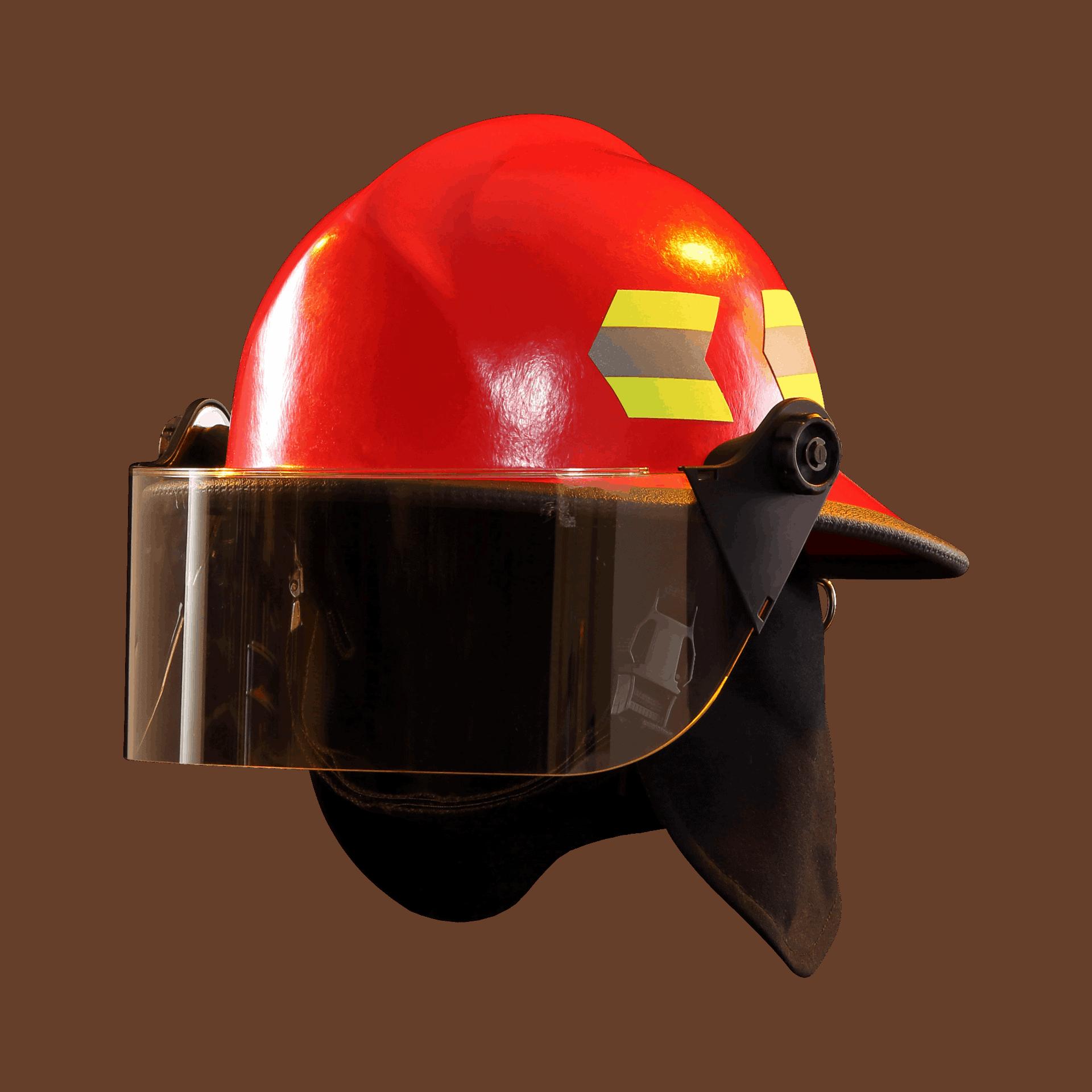 Fire-Dex Modern Helmet with visor