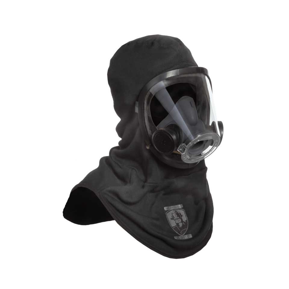 Classic Captain Jim Fire Hood with SCBA