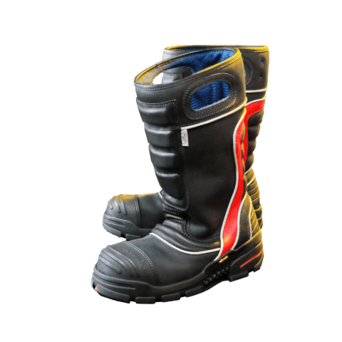 Firedex Boots FDXL200 Pair Side View