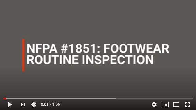 Fire Footwear Advanced Inspection Video Cover