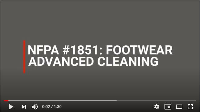 Fire Footwear Advanced Cleaning Video Cover