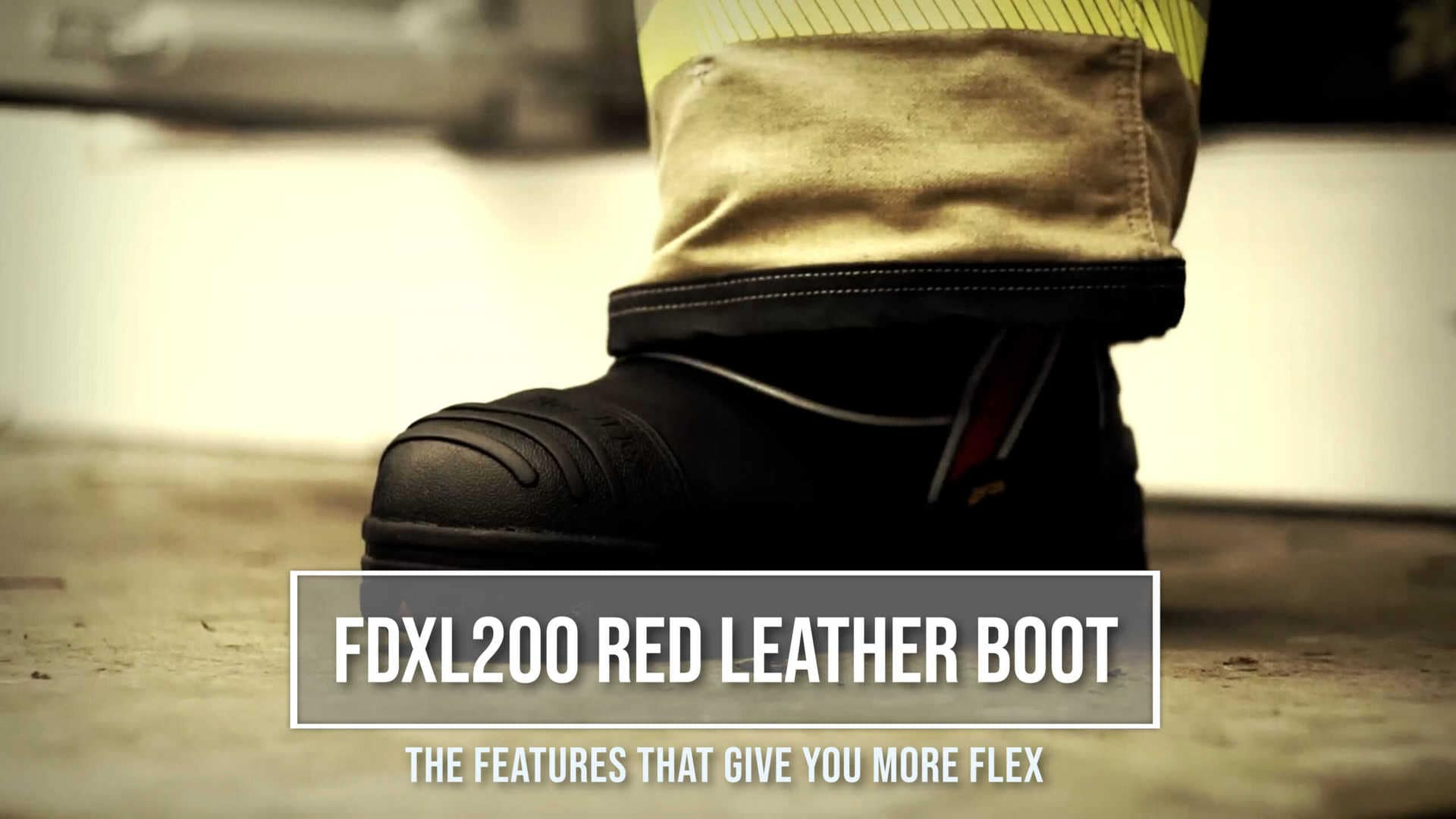 FDXL200 Leather Fire Boot Promotional Video Cover