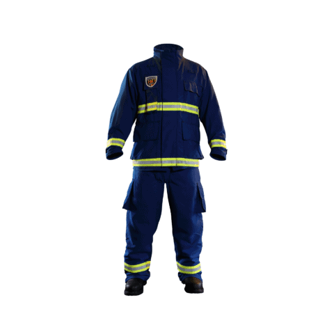 EMS gear- full front view