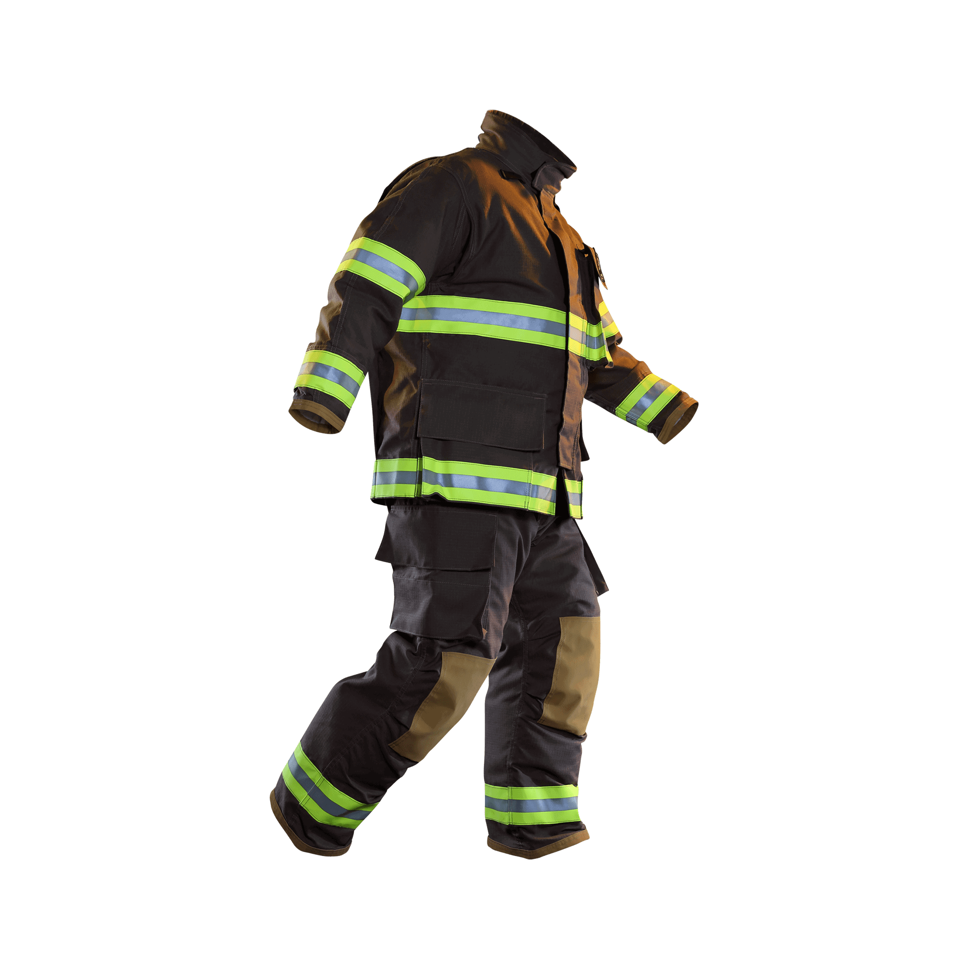 FXC Turnout Gear Full Front View