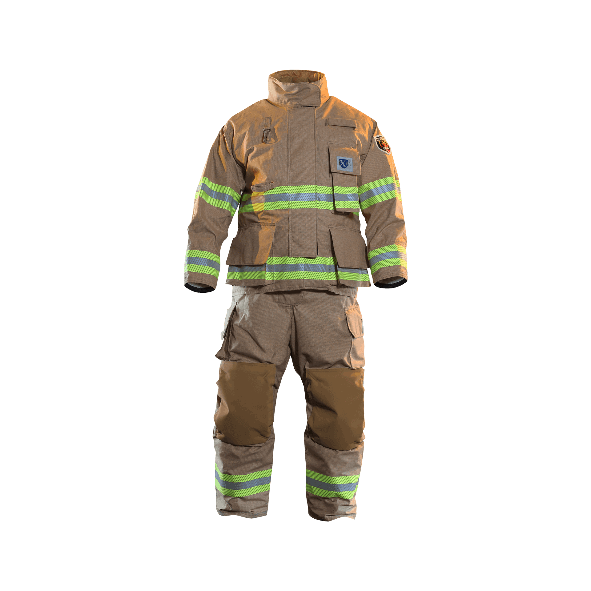 FXM Turnout Gear Full Front View