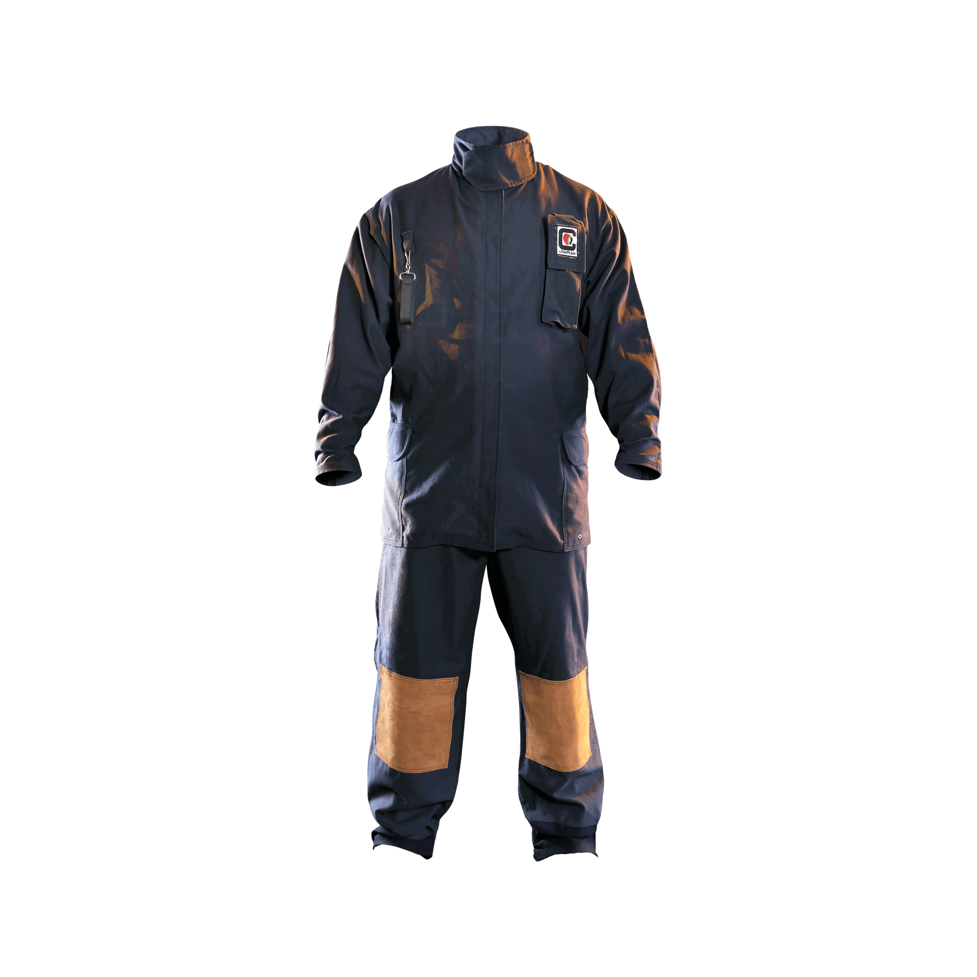 wildland coverall- FR Cotton- front view