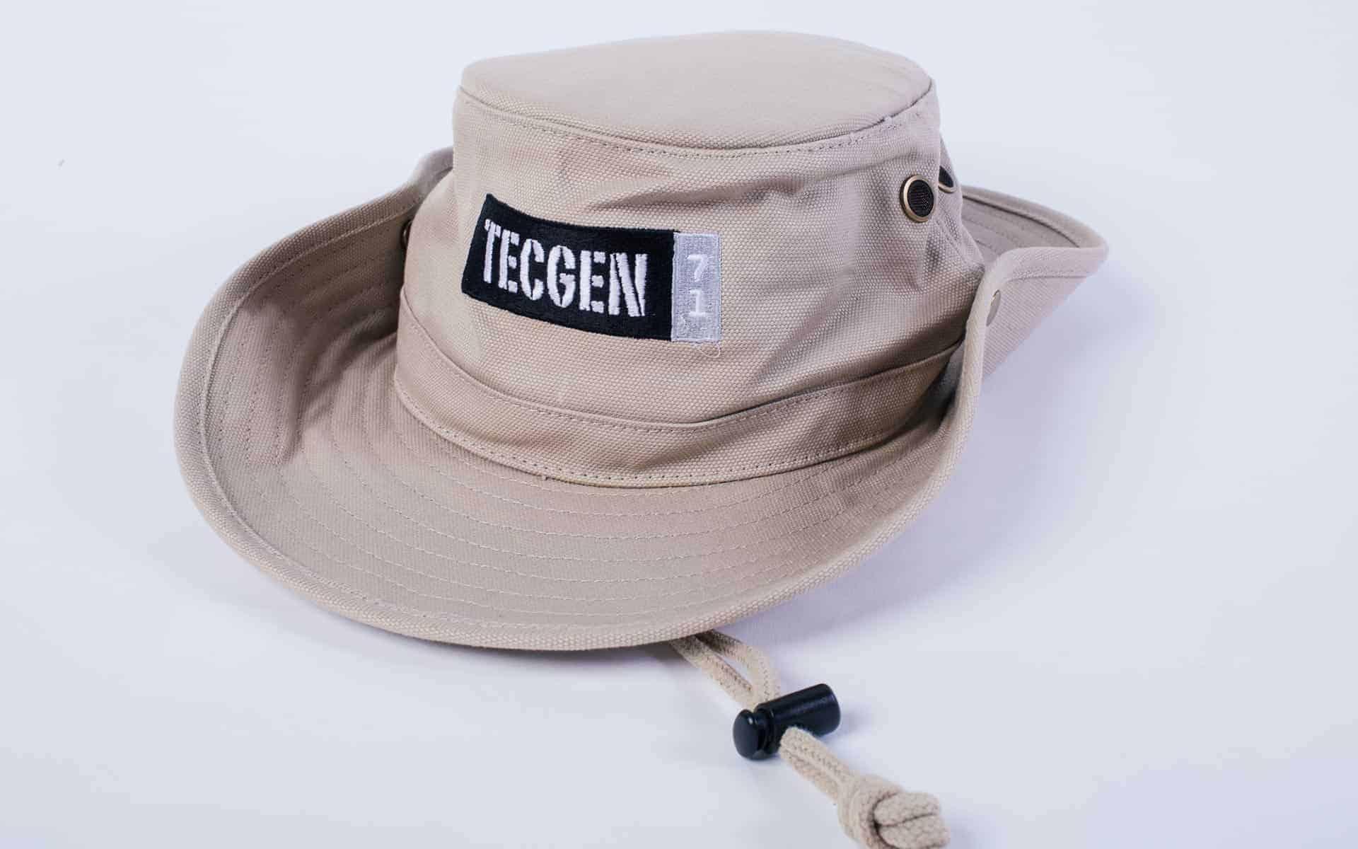 Booney Hat with TECGEN71 Logo