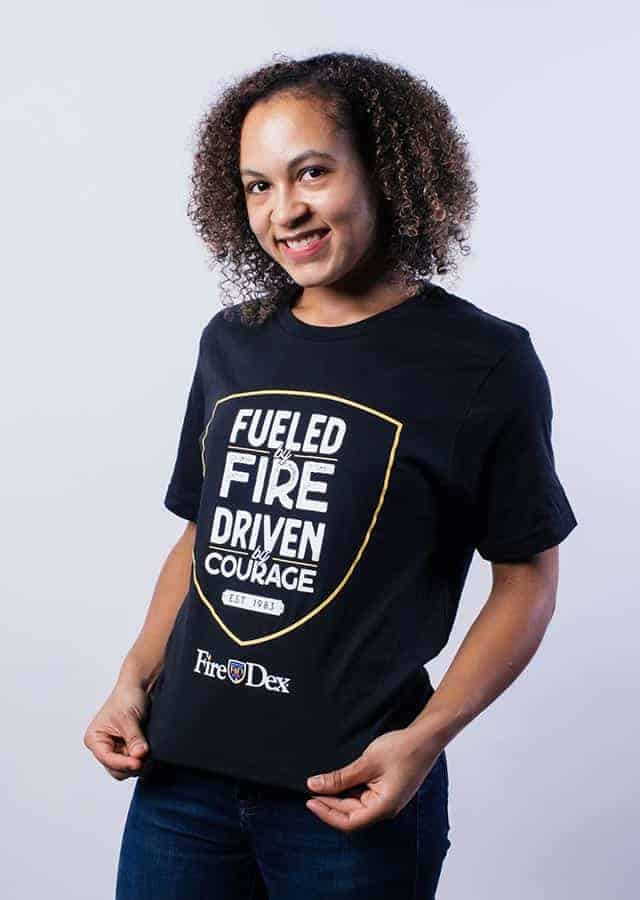 Fueled by Fire Firefighter Shirt
