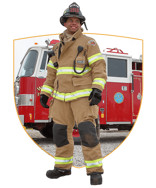 Fire-Dex Intro Image Shield Firefighter