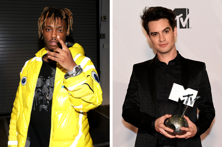 Juice WRLD and Brendon Urie