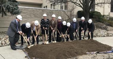 Officials and cancer patients break ground on Allegheny Health Network's Cancer Institute Academic Center