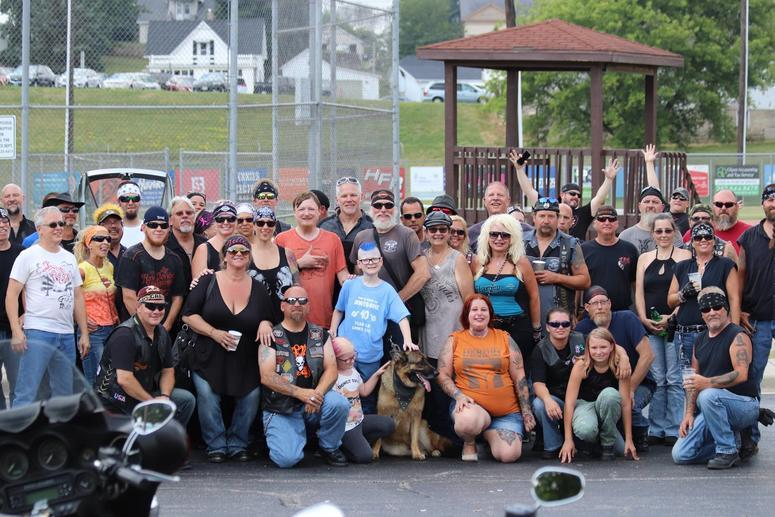 500 Bikers Surprise Boy with Autism at 10th Birthday Party