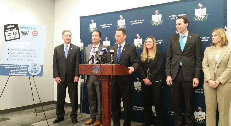 AG Shapiro Announces agreement With Major Retails To Combat Gift Card Scams