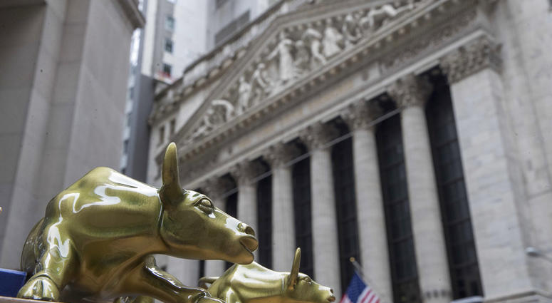 Outside the New York Stock Exchange