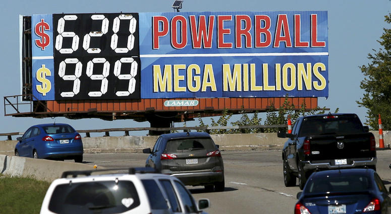 Powerball and Mega Millions jackpot numbers
