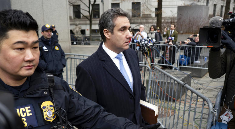 Michael Cohen, President Donald Trump's former lawyer