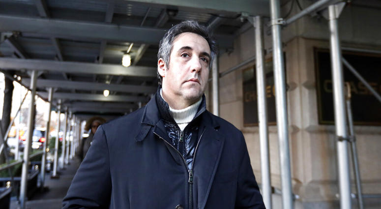 Michael Cohen, former lawyer to President Donald Trump,