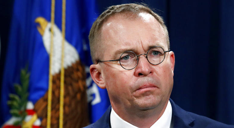 Mick Mulvaney, acting director of the Consumer Financial Protection Bureau (CFPB), and Director of the Office of Management,