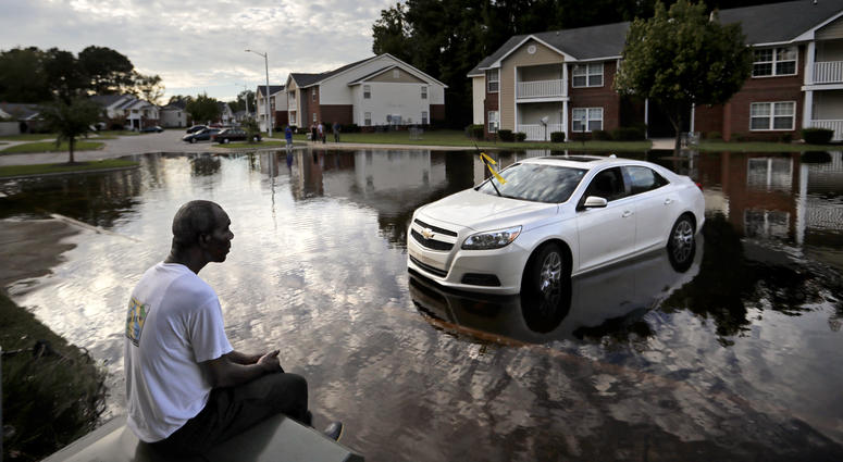 Florence Flooding in Fayetteville, N.C.
