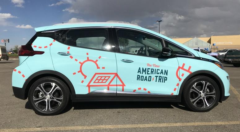The New American Road Trip car
