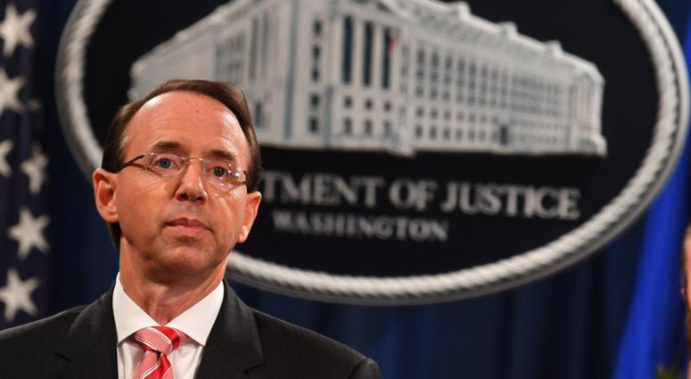 Rod Rosenstein to Leave Soon