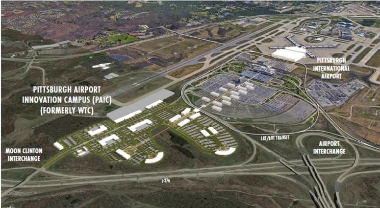 Plans announced today for future development at Pittsburgh International Airport.