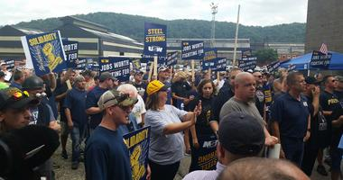 Clairton Coke Works Steelworkers Rally