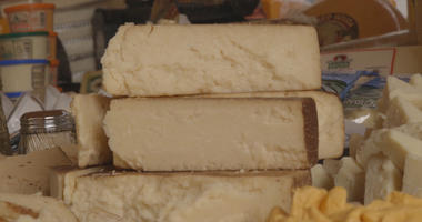 A Dairy Lover's Dream Is This World Record Breaking 2 Ton Cheeseboard