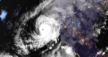 NOAA on Monday, Oct. 22, 2018, shows Hurricane Willa in the eastern Pacific,