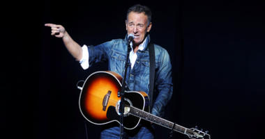 Bruce Springsteen performs at the 12th annual Stand Up For Heroes benefit concert
