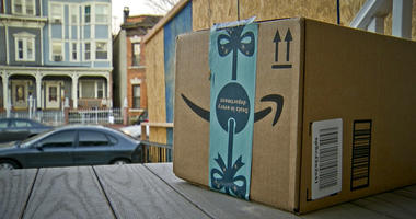 Fake Amazon Box with GPS Tracker