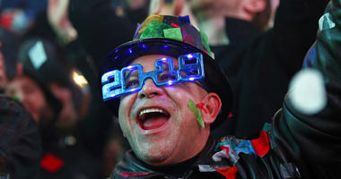 New Year's celebration in New York's Times Square