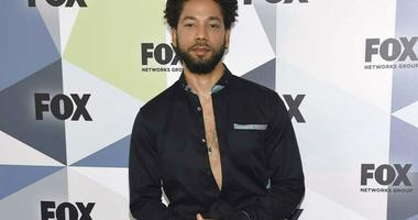 "Jussie Smollett, a cast member in the TV series ""Empire,"" attends the Fox Networks Group 2018 programming presentation afterparty in New York"