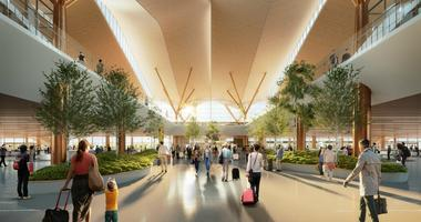 First Look: Pittsburgh International Airport Unveils New Design
