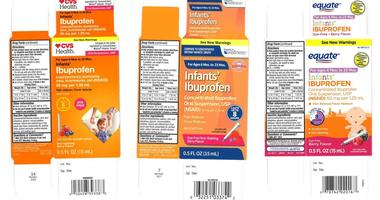 Recalled Children's Ibuprofen