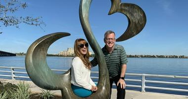 Jane Seymour, Larry Richert
