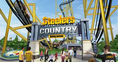Kennywood Teams Up With The Steelers For 'The Steel Curtain' Coaster