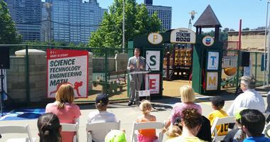 The Pirates, The Children's Museum of Pittsburgh, and Chevron are bringing science, math, and technology education for kids to PNC Park.