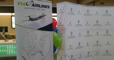 Pittsburgh International Airport is getting a new airline and three new non-stop destinations.