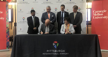 Pittsburgh International and CMU partner in aviation innovation laboratory.