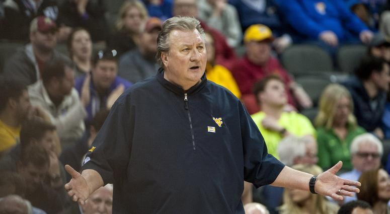 West Virginia Mountaineers Head Coach Bob Huggins
