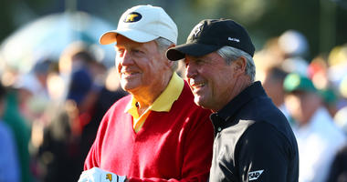 Jack Nicklaus and Gary Player