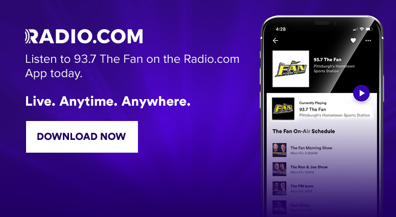 Download the Radio.com App and listen to 93.7 The Fan