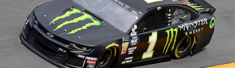 Kurt Busch's No. 1 Monster Energy Chip Ganassi Racing Chevrolet Camaro