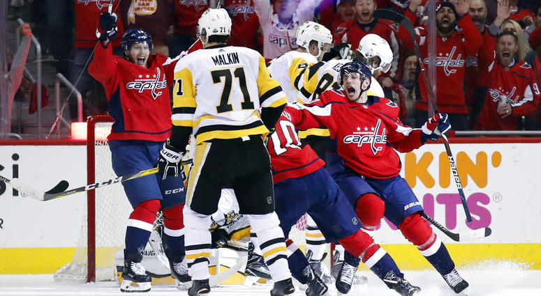 98086315205 Caps Win Game 5 To Put Pens On Brink