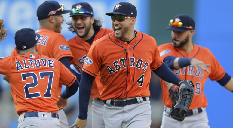 The Houston Astros Advance To The ALCS