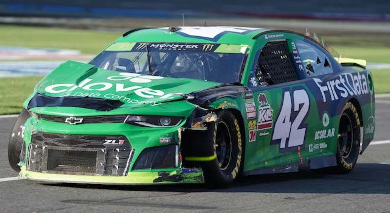 Kyle Larson No. 42 Clover/First Data Chevrolet