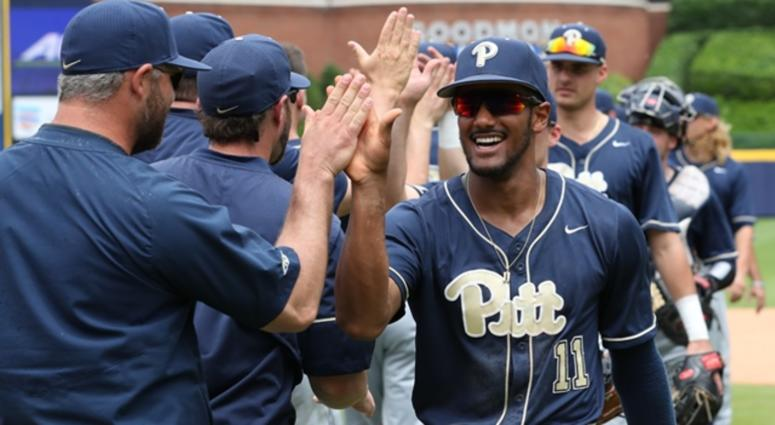 Liam Sabino and Pitt wins in ACC Tournament