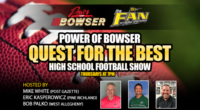 Power of Bowser Quest for the Best High School Football Show